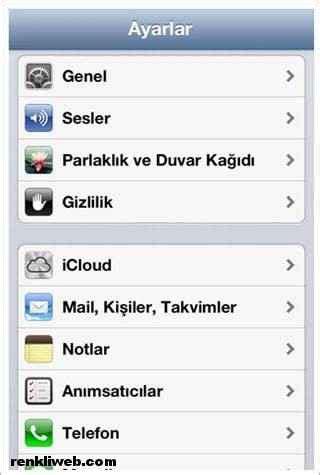 iphone u bilgisayara yedekleme iphone kişileri nasıl dışa aktarılır resimli anlatım iphone rehberi dışa aktarma