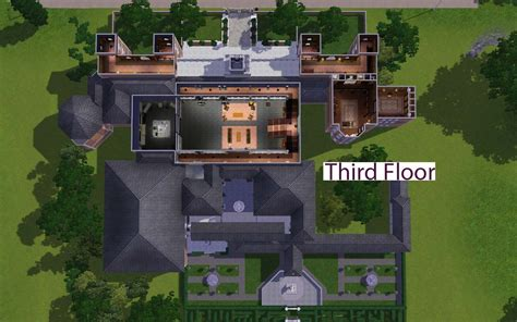 Floor Plans For Houses Free Mod The Sims Croft Manor