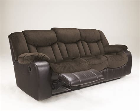 discount reclining sofa tafton java reclining sofa marjen of chicago chicago