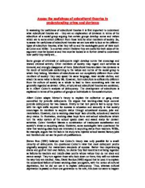 Deviance Essays by Crime And Deviance Essay Researches Www Austinprojectorrentals
