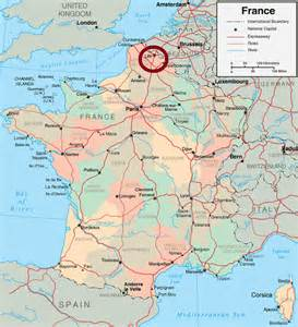 Map Of France by Lille France Map Recana Masana