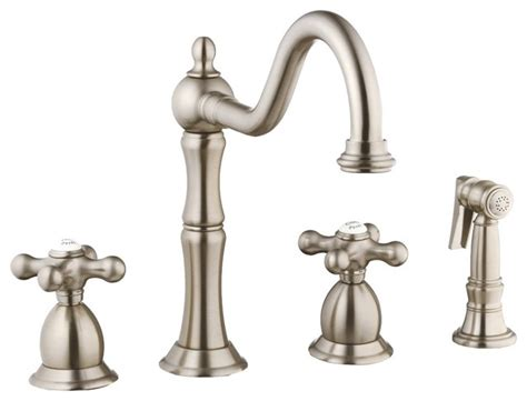 foret n120 02 ss kitchen faucet in stainless steel
