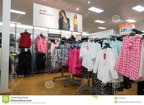 ladies fashion big w department store editorial stock