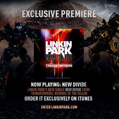 linkin park new divide testo linkin park new divide