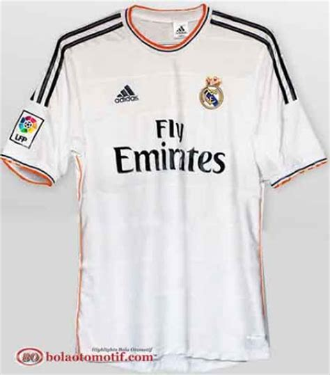 Baju Bola Fly Emirates fly emirates sponsori jersey terbaru real madrid bolaotomotif