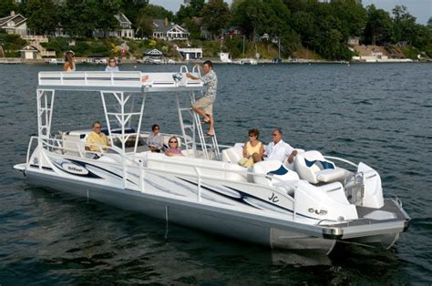 types of tritoon boats research 2012 jc pontoon boats tritoon 306 io on