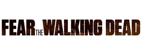 Kaos Tv Series Fear Of Walking Dead Fonts walking dead logo png www pixshark images galleries with a bite