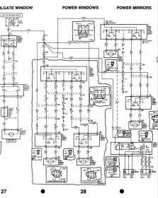 ford mondeo mkii power window wiring diagram binatani