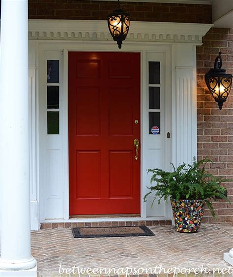 red door paint colors paint your front door red