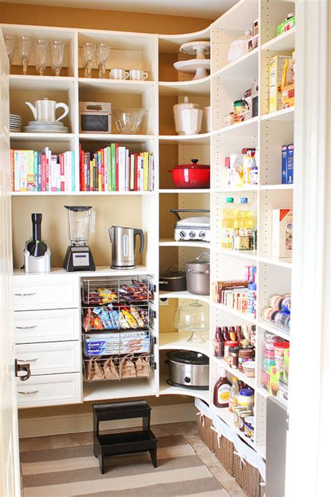 walk in pantry organization new house tour pantry makeover before and after photos