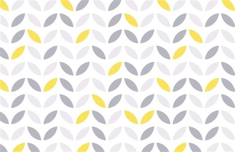 yellow and grey abstract flower pattern wallpaper murals wallpaper