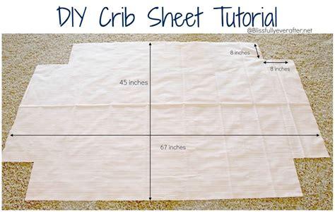 pattern making sheets tutorial crib sheets step 1 cut fabric to measure 45