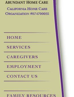 abundant home care home care senior care eldercare