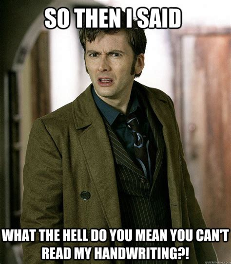 10th Doctor Meme - apalled 10th doctor memes quickmeme