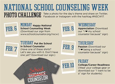 asca school counselor national school counseling week american school