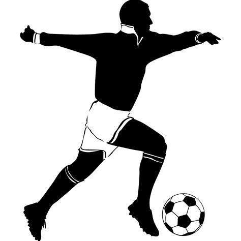 soccer wall sticker wallstickers folies soccer player wall stickers