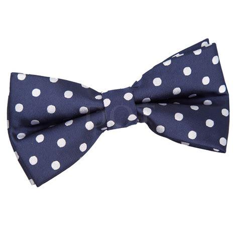 Polka Dot Bow Tie new dqt polka dot navy blue mens pre bow tie ebay