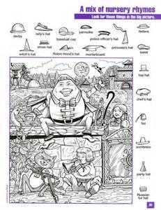 highlights pictures worksheets hidden pictures zoekplaten doolhoven van punt naar