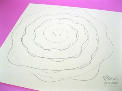 rolled paper roses template shabby rolled spiral flower tutorial lots of photos