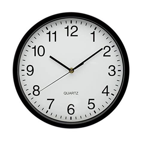 best office wall clock from usa elvoki best wall clock 12 5 inch quartz with