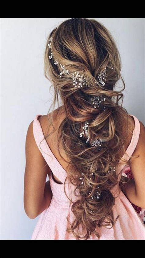 bridal hair vine wedding headband long hair vine wedding