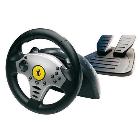 volante usb volante marcha pedal thrustmaster universal