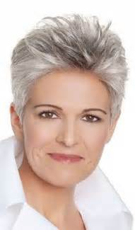 salt and pepper hair for 50 50 short and stylish hairstyles for women over 50