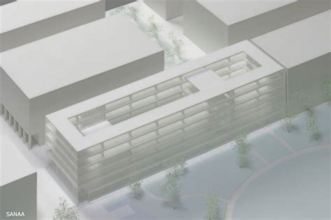 New Museum Floor Plan novartis office building as project architect at sanaa