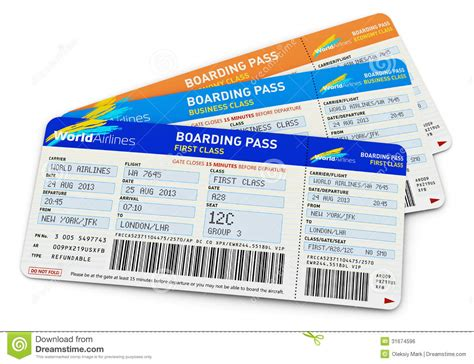 air tickets royalty free stock image image 31674596