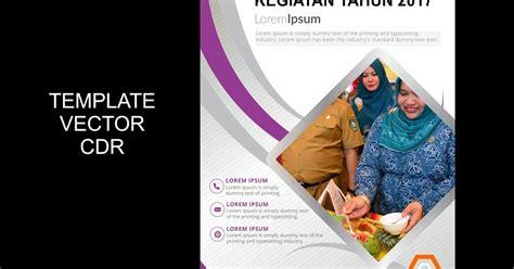 cover laporan kegiatan  guru corel