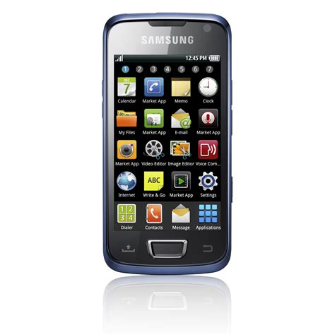 smartphone android samsung i8520 galaxy beam built in projector android smartphone available july 17 android