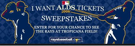 Pepsi Mlb Sweepstakes - division series ticket sweepstakes official rules ta bay rays