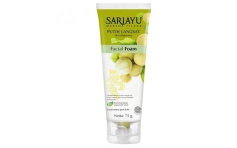 review sariayu putih langsat foam til cantik
