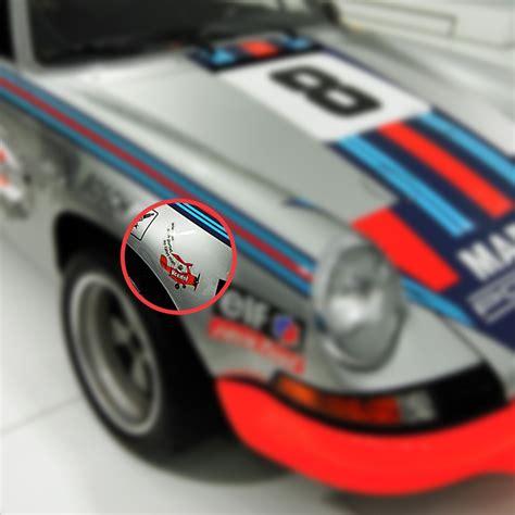 Porsche Aufkleber by Veedol Sticker For Porsche 911 3 0 Rsr From 1973