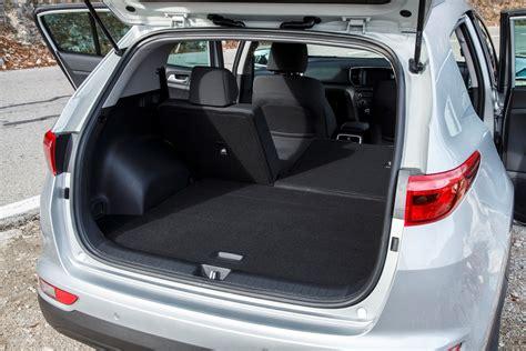 Kia Sportage Boot Space Litres Kia Sportage Estate 2016 Driving Performance Parkers