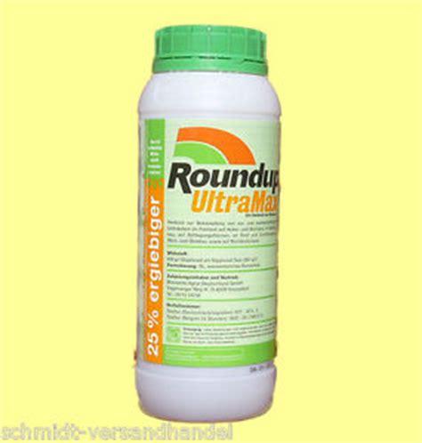 Unkrautvernichter Aus Polen by 1 L Roundup Ultramax Unkrautvernichter Up Ebay