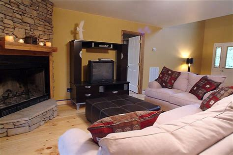 tv in front of fireplace lang ri la isolated lake front home ideal vrbo