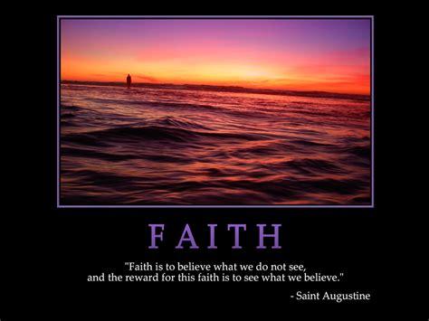 Faith Quotes Faith Quotes By Saints Quotesgram