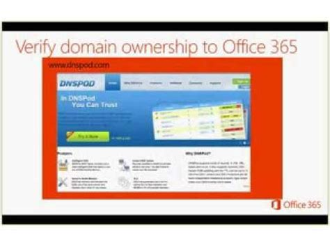 Office 365 Portal Not Loading Ignite Webcast Setting Up Domains In The Office 365