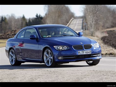 2011 bmw 3 series convertible front right quarter view