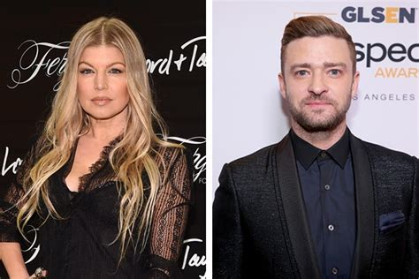 Fergie Performs With Justin Timberlake by Cinemanix Famosos Internacionais Que Tiveram Romances