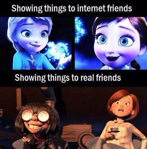 Online Friends Meme - disney memes funny memes and other pinterest disney