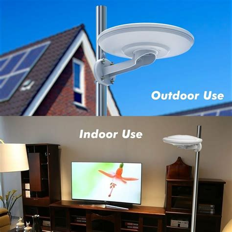 360 176 reception omni directional lified indoor outdoor hdtv antenna up 100mile ebay