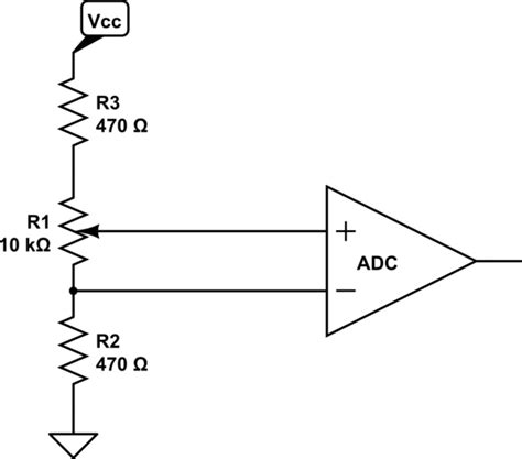 resistor network adc raspberry pi what do you connect to in and in for adc differential input configuration