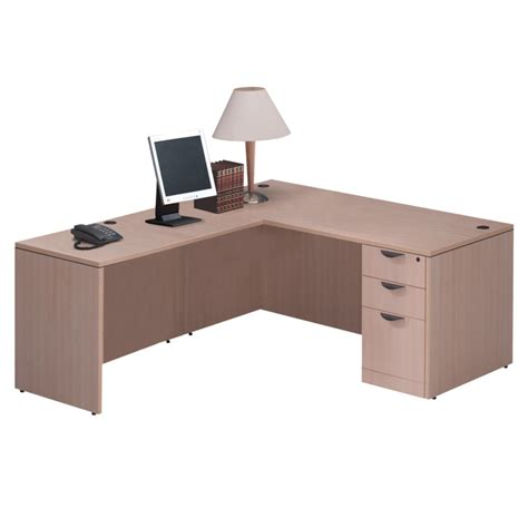 Standard Office Desk Standard L Desk Deluxe File Office Furniture Ez
