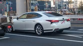 Lexus Ls 2017 Lexus Ls Spotted In The With No Camouflage