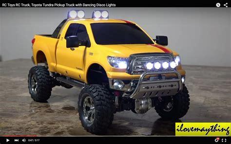 toyota light trucks for sale rc toyota tundra pickup truck has disco lights nostalgia
