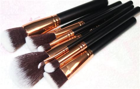 Kuas Mac S Shape Kuas Foundation harga make up brush set murah saubhaya makeup