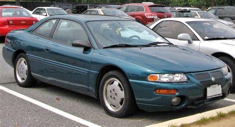 books about how cars work 1995 chrysler sebring instrument cluster file 95 96 chrysler sebring coupe jpg wikimedia commons