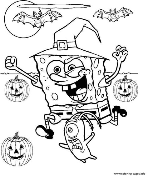 Free Printable Spongebob Coloring Pages by Spongebob Coloring Pages Printable